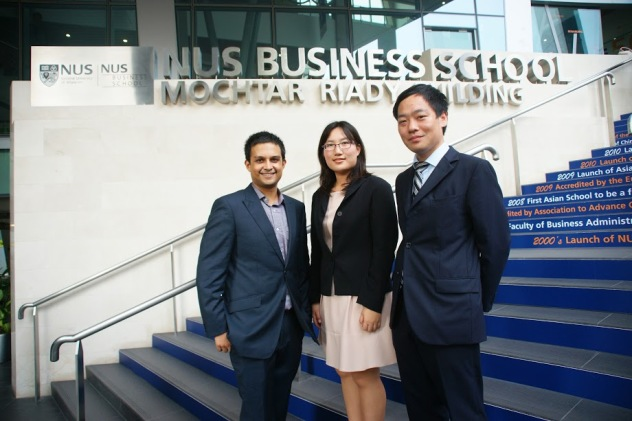 From left to right: Eeshan Kulkarni, Pitchaya Sunthanakul, Hiroki Yoshida